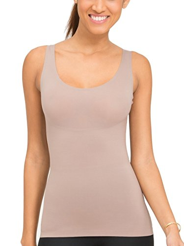 Spanx Damen Formendes Top Thinstincts Tank mineal taupe