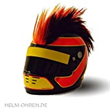'Gebirgskamm-Helm' in Deutschland-Farben, Ski- oder Motorrad-Helm