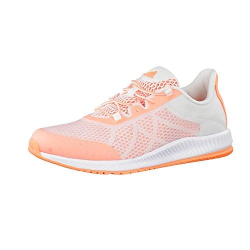 Chaussures femme adidas Gymbreaker Ftwr White/Easy Orange S17/Easy Orange S17