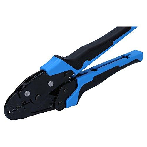 Cembre HN1 Hand Crimpzange für offene unisolierte Kabelschuhe 0,25-10mm² I Industriequalität