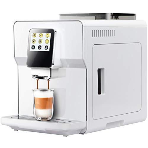 Automatische Kaffeemaschine Maschine Pumpendruck 1250 Watt 1,7 Liter Wassertank Kapazität Schwarz/Weiß