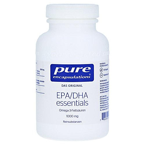 PURE ENCAPSULATIONS EPA/DHA essent.1000 mg Kapseln 90 St