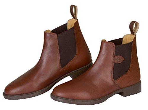 COVALLIERO Reitstiefelette Leder Classic, Schuhgrösse 44, braun