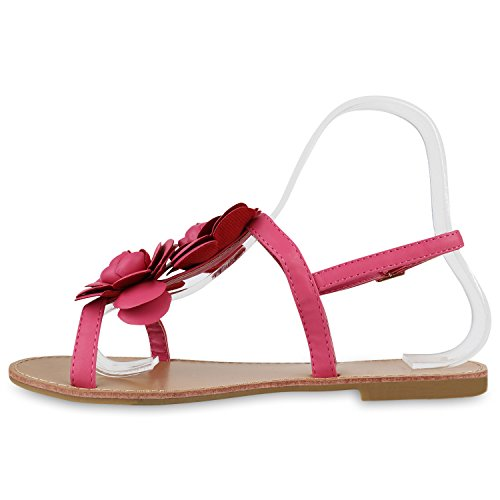 Bug mit Leder Sandalen Sandalen Sommer Größe, Pink, 32
