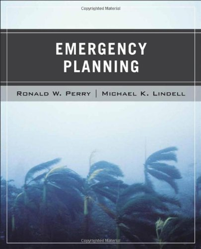 Wiley Pathways Emergency Planning by Perry, Ronald W. Published by Wiley 1st (first) edition (2006) Paperback