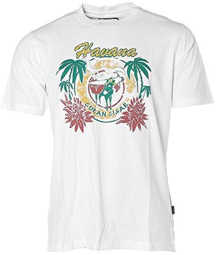 Kitaro Herren T-Shirt -HAVANA- Weiß