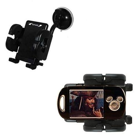 Disney Pirates of the Caribbean Mix Stick MP3 Player DS17033 Windschutzscheibenhalterung für KFZ / Auto - Cradle-Halter mit flexibler Saughalterung für Fahrzeuge