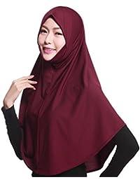 GladThink Hijab musulmán de la bufanda de las mujeres con más colores