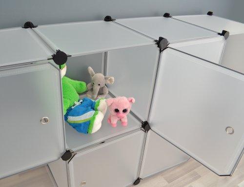 Transparentes Badezimmer Regalsystem - 5