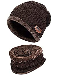 Amazon.es  gorros lana hombre - Marrón  Ropa 1b4fd383e78