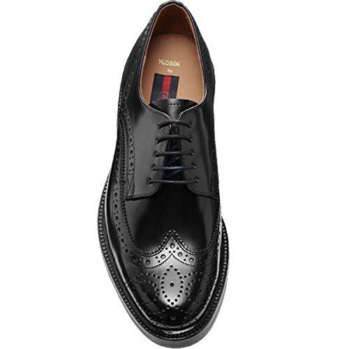 LLOYD hUDSON noir 14-145-00 lLOYD-classic-chaussures à lacets-brillants et peaux épilés de bovins-semelles en cuir Noir - Noir