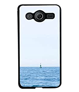 PrintVisa Designer Back Case Cover for Samsung Galaxy Core I8260 :: Samsung Galaxy Core Duos I8262 (Sky Clarity Picture Background Wallpaper Lighthouse)