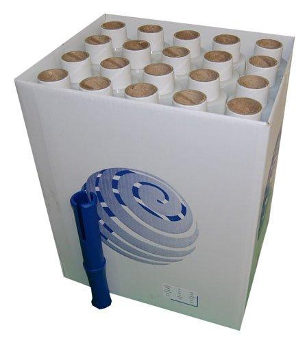 120 Clear Standard Core Mini Hand Pallet Strech Wrap Cling Film With Free Dispenser 100mm x 150m x 17mu