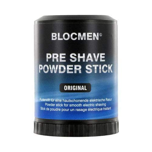 BLOCMEN Original Pre Shave Powder Stick New 60 g Puder