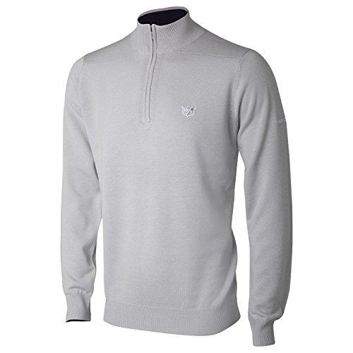 Wilson Herren Turtle Neck Sweater Turtle Neck Sweater Wilson, Grau (Grey), XL