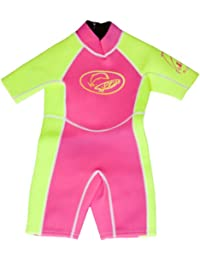Surfit Girl's Plain Shorty Wetsuit