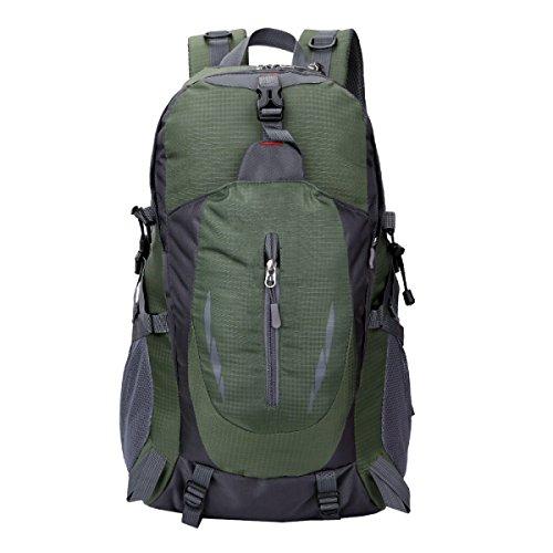 Yy.f Neue Outdoor-Bergsteigen Taschen Farbige Schultern Sporttasche 35L Art Und Weise Beiläufiger Rucksack. Größe: 30 * 22 * 