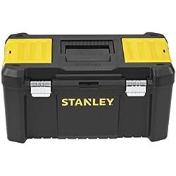"""Stanley STST1-75521 Boite à outils essential m 19"""", Noir, Jaune"""