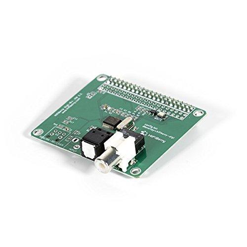 HiFiBerry Digi+ Transformer Version - Digitale Soundkarte für Raspberry Pi 2 Modell B / B+ / A+ mit Toslink und Coax Anschluss