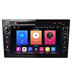 "Schwarz Android 9.0 32GB Autoradio DVD GPS Navigation 7"" Radio DAB+ Mirrorlink OBD2 für Opel Vauxhall Astra Antara Vectra Corsa Zafira"