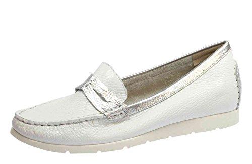 Caprice 24650 Damen Slipper Weiß