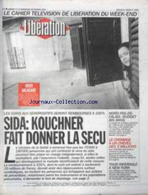 LIBERATION [No 3662] du 27/02/1993 - SID...