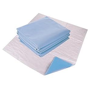 Waschbare Bettpolster von Remedies – Wiederverwendbare Unterpolster bei Inkontinenz. Weiches und Saugfähiges Unterpolster, groß, 86 cm x 91 cm, 4 in Einer Packung