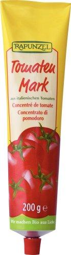 Rapunzel Tomatenmark 22% Tr.M. in der Tube, 4er Pack (4 x 200 g) - Bio