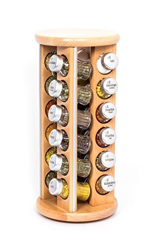gald-poland-rastrelliera-girevole-per-le-spezie-e-per-lerba-legno-barattoli-di-vetro-gald-24-silver-