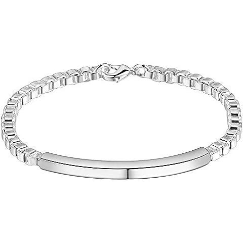 V-EWIGE Joyería con encanto de la manera 925 pulseras de plata clásico