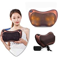 Jumix Electronic Neck Cushion Full Body Massager with Heat for pain relief Massage Machine for Neck Back Shoulder Pillow…