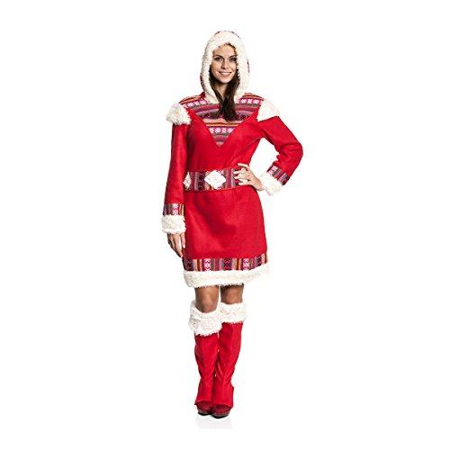Kostümplanet® Eskimo-Kostüm Damen Größe ()