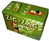 Zig Zag Rolling Papers, Box of 100, Green Best Review Guide