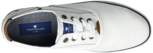 TOM TAILOR Herren 2781503 Low-Top Weiß (white)