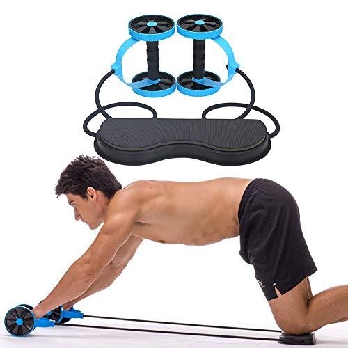 ZHANGYUSEN Environment Mute Home Fitness Equipment Push-Ups Double Wheel Abdomen Muscle