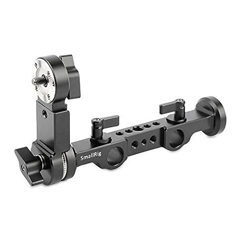 SmallRig ARRI Rosette Support avec 15 mm Rod Clamp pour Sony FS5 FS7 Poignée Relocation 1883