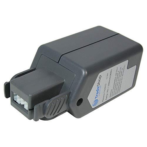 Trade-Shop Premium Akku 18V 2000mAh Li-Ion ersetzt Wolf Power Pack 3, 7420072, 7420090 für Rasentrimmer LI-ION Power GT 815, GTB 815, Akku-Heckenschere LI-ION Power HSA 45 V (7420000) Power 2000 Akku