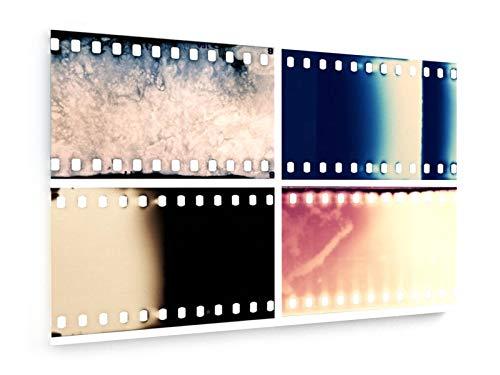 cm - Textil-Leinwandbild auf Keilrahmen - Wand-Bild - Kunst, Gemälde, Foto, Bild auf Leinwand - Unterhaltung ()