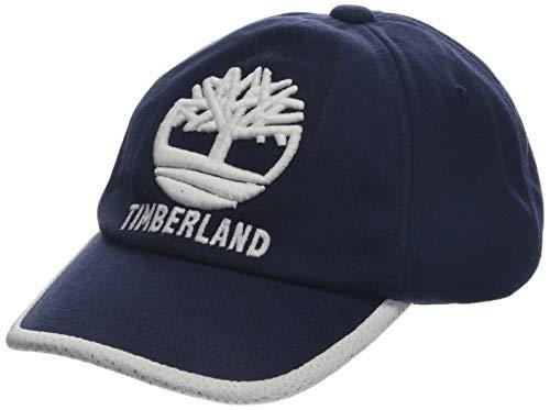 Timberland Baby-Jungen Casquette Kappe, Blau (Indigo Blue Beige 85t), X-Large (Herstellergröße: 52) (Timberland Hat)