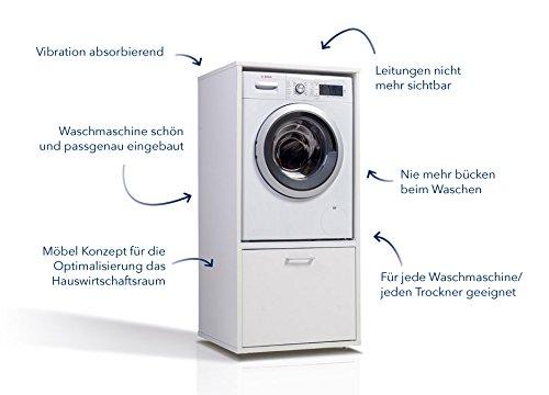 Gebraucht waschmaschinenschrank ikea lillangen in bremen um
