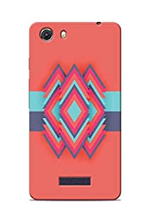 Print Station Printed Back Cover for Micromax Unite 3 Q372