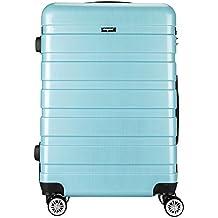 AMASAVA Maleta de Cabina Equipaje de Mano ABS+PC, Candado TSA
