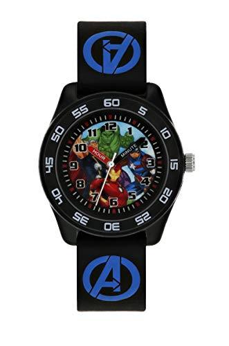 Avengers Reloj Analógico para Niños de Cuarzo con Correa en Caucho AVG9007