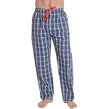 53e946271482 El Búho Nocturno - Bas de Pyjama Hommes Longues à Rayures ou à Carreaux