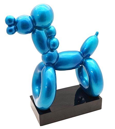 Azul Fibra de vidrio figura–Balloon Dog–Hommage A Jeff Koo