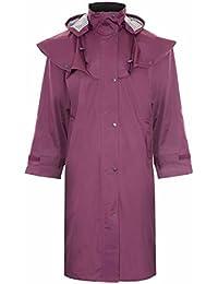 G5 Apparel Womens Ladies Long Full Length Waterproof Riding Rain Cape Coat - B33
