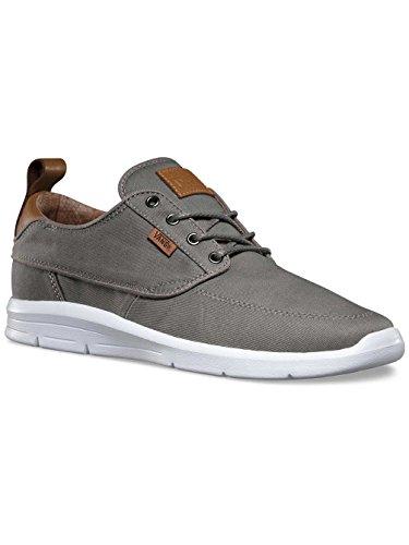 Vans Unisex-Erwachsene Brigata Lite Plus Sneaker Grau (t&l/brushed Nickel/white)