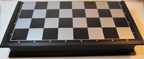 ChessEbook-Magnetisches-Schachspiel-Dame-Backgammon-32-x-32-cm