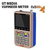 GTmedia V8 Satélite Finder DVB-S/DVB-S2 Localizador Buscador de Satélite FTA Satélite Receptor TV...