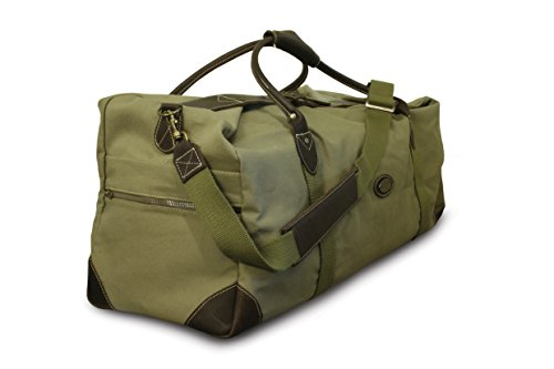 Safari Weekender (ROGUE WEEKENDER CANVAS/ LEATHER BAG OLIVE RTG-1L)